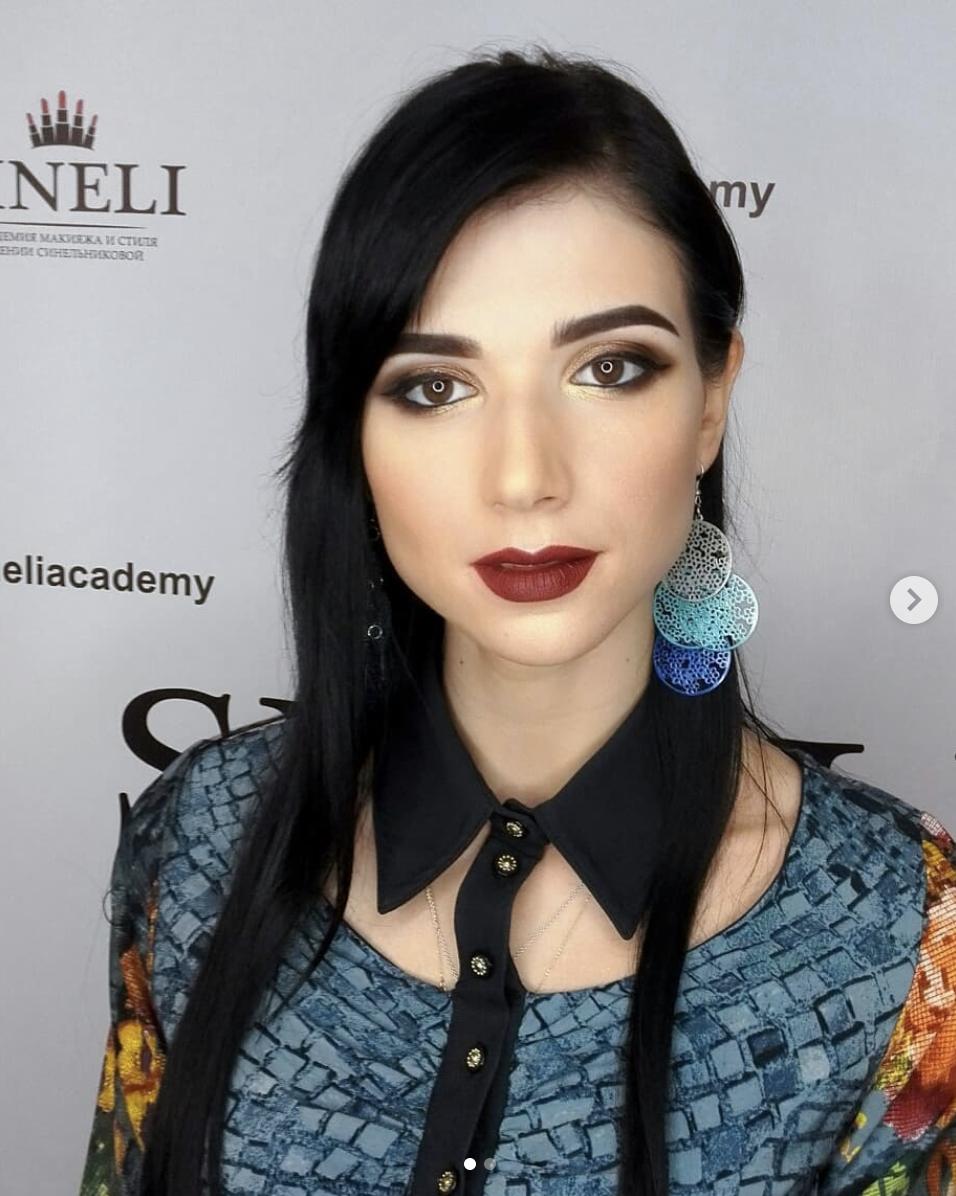 Maquillage pour une femme magnifique